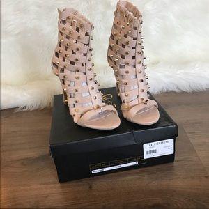 Fashion nova nude studded heels